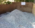 墓じまいで撤去された石を自前でリサイクル