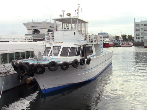 大型船-散骨