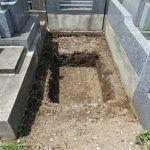 お墓の構造物を取り除いてみたら