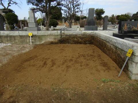 多磨霊園-墓じまい終了