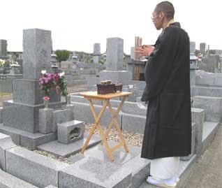 埋葬行為について